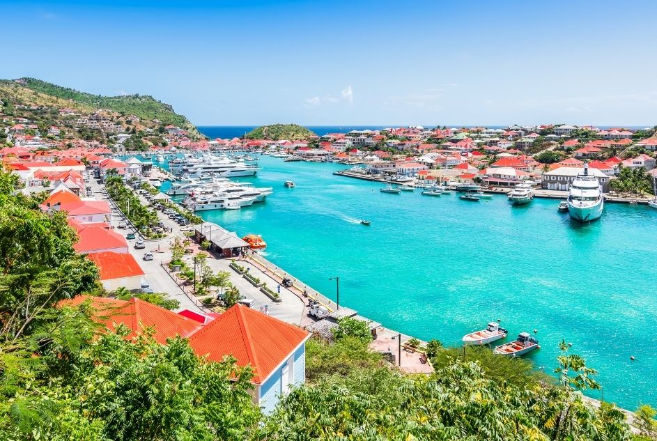 New Year in the Caribbean, St. Barts